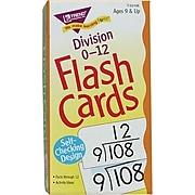 Trend Enterprises Math Flash Cards, Division 0-12