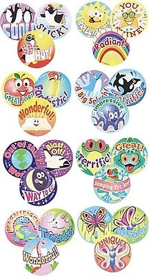 Trend Stinky Stickers Praise Words Jumbo Variety Pack, Assorted Scented Stickers, 432 Stickers/Pk