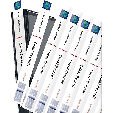 Avery Inch Binder Spine Inserts Pack   Staples