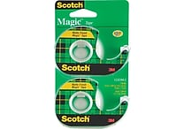 Scotch Magic Tape with Handheld Dispenser Refill - 3/4' x 16.6yd - 2/pack