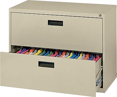 MBI® 2-Drawer Lateral File Cabinet; 26-1/2