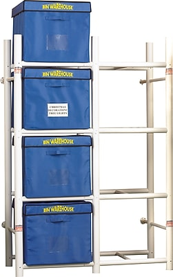 Bin Warehouse 8-Tote Storage System