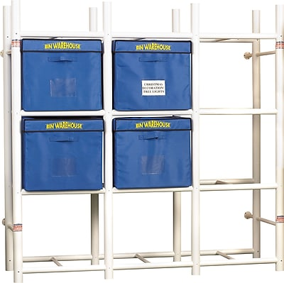 Bin Warehouse 12-Tote Storage System