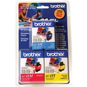 Brother LC41 Colour Ink Cartridges, Combo Pack (LC413PKS)
