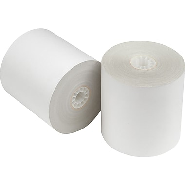 Staples 2-Part Credit Card Terminal Roll, 3