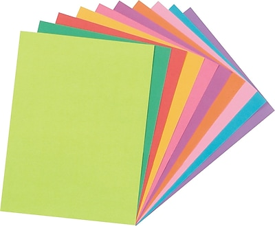 Tru-Ray® Fade Resistant Art Construction Paper, Bright Assorted Colors, 9