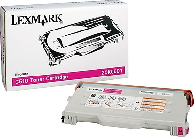 Lexmark Magenta Toner Cartridge (20K0501)