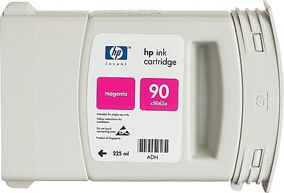 HP 90 Magenta Ink Cartridge (C5062A), 225ml
