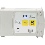 HP 90 Yellow Ink Cartridge (C5065A), 400ml, High Yield