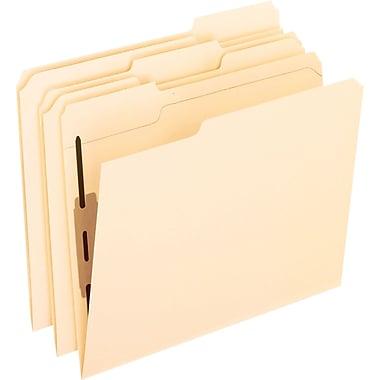 Pendaflex® Manila Fastener Folders, Letter, Position 1, 50/Box