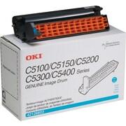 OKI® 42126603 Image Drum for C5100, C5300 Printers, Cyan
