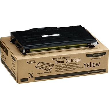 Xerox Phaser 6100 Yellow Toner Cartridge (106R00678)