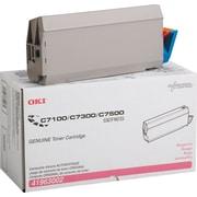 OKI® 41963002 Magenta Laser TonerCartridge