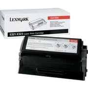 Lexmark 12A7305 Black Toner Cartridge, High Yield