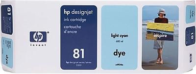 HP 81 Light Cyan Ink Cartridge (C4934A)