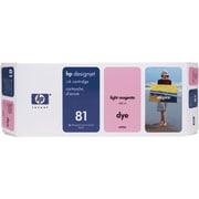 HP 81 Light Magenta Ink Cartridge (C4935A)