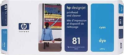 HP 81 Cyan Printhead and Cleaner (C4951A)