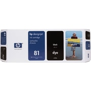 HP 81 Black Ink Cartridge (C4930A)