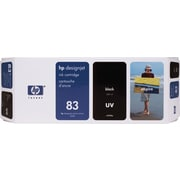 HP 83 680-ml Black UV Ink Cartridge (C4940A)