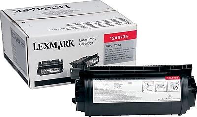 Lexmark Black Toner Cartridge (12A6735), High Yield