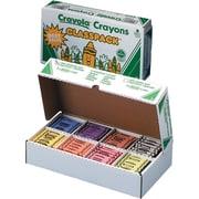 Crayola® Classpack® Crayons, 8 Assorted, 400/Box (528038)