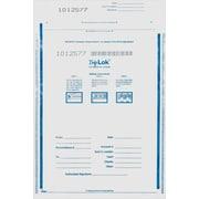 TripLok® 73609W Tamper-Evident Cash Bag, Clear