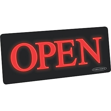 US Stamp & Sign Newon 'Open' Horizontal Sign