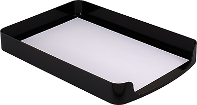 OIC® 2200 Series Black Plastic Front-Load Legal Tray