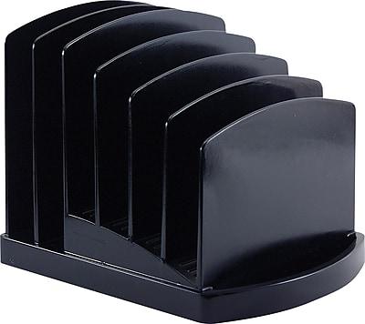 OIC® 2200 Series Black Plastic Incline Sorter