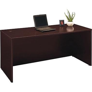 Bush® Business Westfield Elite 66W Desk Shell, Mocha Cherry