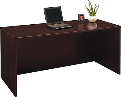 Bush Business Furniture Westfield 66W Desk Shell, Mocha Cherry (XXXWC12942A)