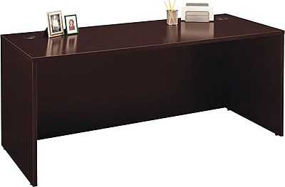 Bush Business Furniture Westfield 72W Desk Shell, Mocha Cherry (XXXWC12936)