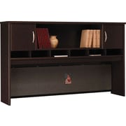 "Bush Business Westfield 72""W 2 Door Hutch, Mocha Cherry"