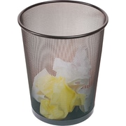 Staples® Metal Mesh Wastebasket