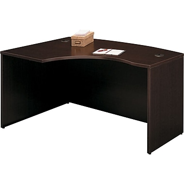 Bush® – Bureau arqué en L à gauche, de la Collection Westfield, cerisier mo