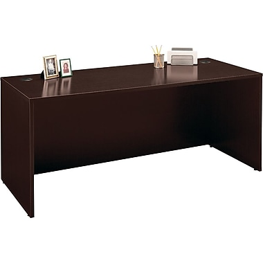 Bush Westfield 72 in Desk, Mocha Cherry