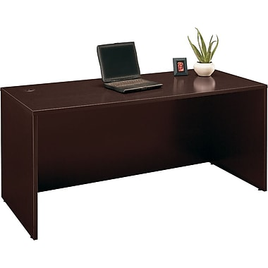 Bush® - Bureau de direction de la collection Westfield, 66 po, fini cerisier Mo