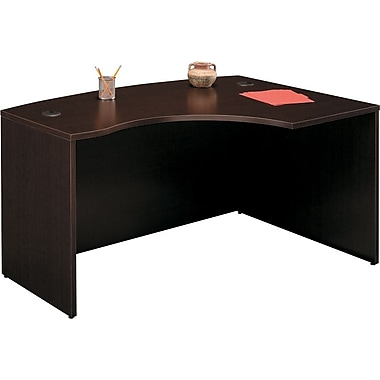 Bush Westfield Right L-Bow Desk,Mocha Cherry