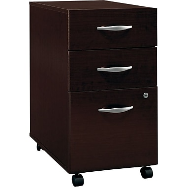 Bush Westfield 3-Drawer File,Mocha Cherry