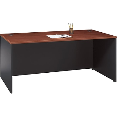 Bush® – Bureau de direction de 72 po de la collection Westfield, fini cerisie