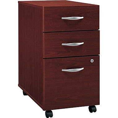 Bush Westfield 3-Drawer File, Cherry Mahogany