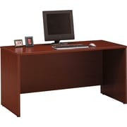 Bush Business Furniture Westfield 60W x 24D Credenza Desk, Mahogany (WC36761)