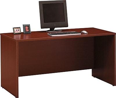 Bush Business Furniture Westfield 60W x 24D Credenza Desk, Mahogany (WC36761)