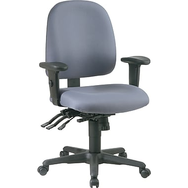 Office Star Ratchet Back Multi Function Fabric Ergonomic Task Chairs