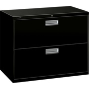 HON Brigade 600 Series 2 Drawer Lateral File, Black,Letter/Legal, 36''W (H682LP.COM) NEXT2017