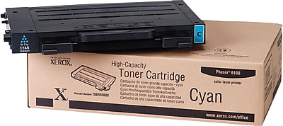 Xerox (106R00680) Cyan Toner Cartridge, High Yield
