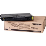 Xerox Phaser 6100 Yellow Toner Cartridge (106R00682), High Yield