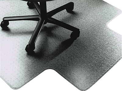 National Industries 53''x45'' Chair Mat for Carpet, Rectangular w/Lip (7220004576054)