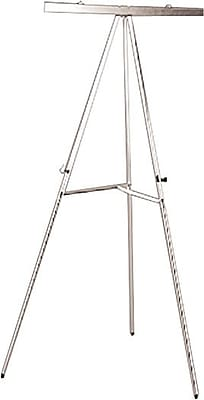 National Industries Display Tripod Easel, Silver