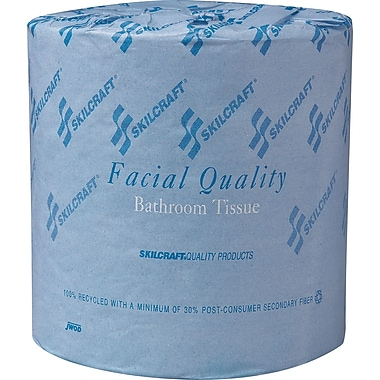 National Industries Bathroom Tissue, 2-Ply, White, 4 1/2